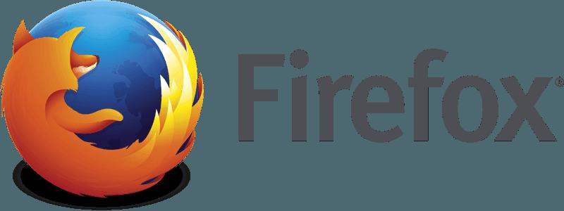 Logo sourced from Mozilla Firefox website.