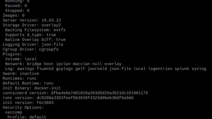 Installing Docker on a Raspberry Pi