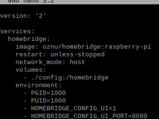 How to install homebridge in a docker container on a Raspberry Pi